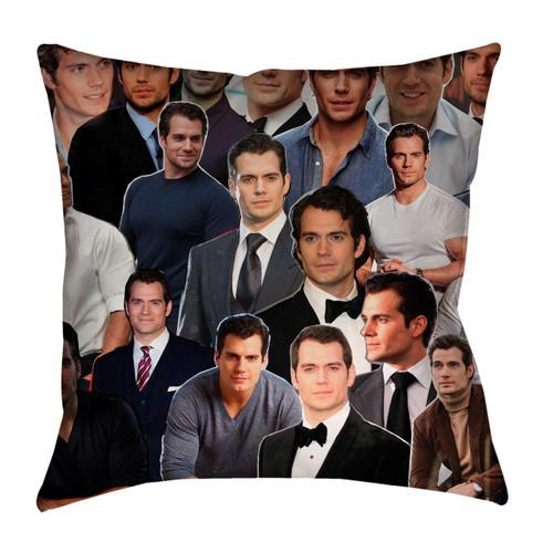 Henry Cavill  Photo Collage Pillowcase