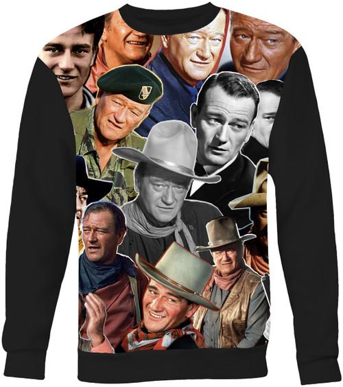 John Wayne Collage Sweater Sweatshirt