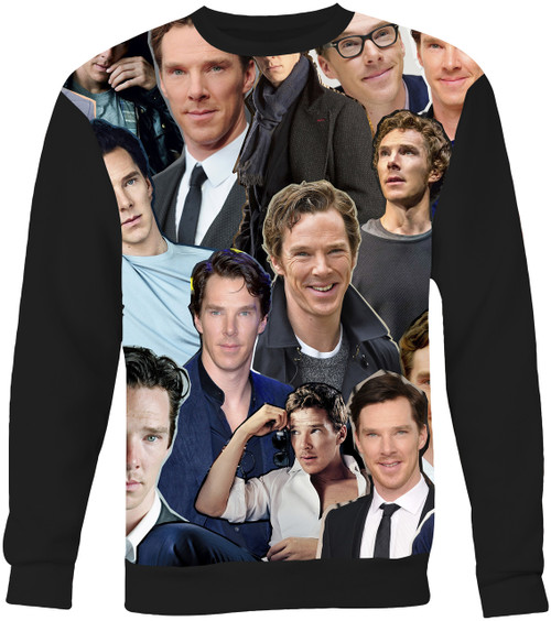 Benedict Cumberbatch Collage Sweater Sweatshirt