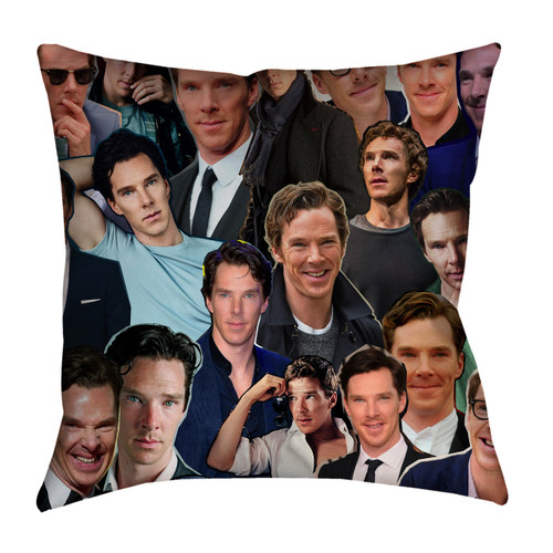 Benedict Cumberbatch Photo Collage Pillowcase