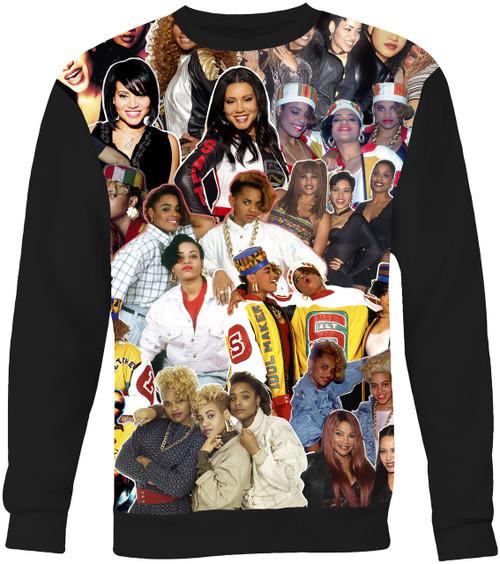 Salt-N-Pepa Collage Sweater Sweatshirt
