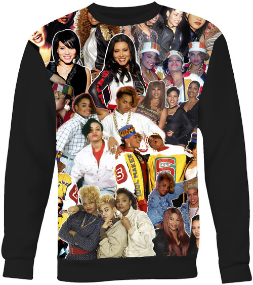 Salt-N-Pepa Collage Sweater Sweatshirt