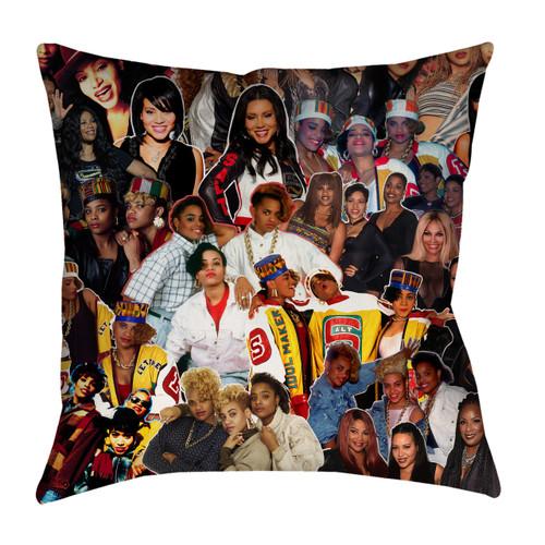 Salt-N-Pepa Photo Collage Pillowcase