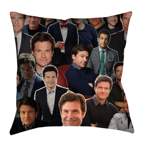 Jason Bateman Photo Collage Pillowcase