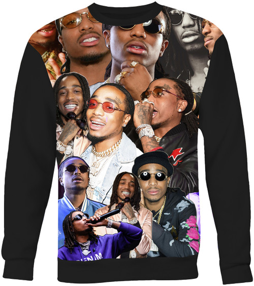 Quavo Collage Sweater Sweatshirt