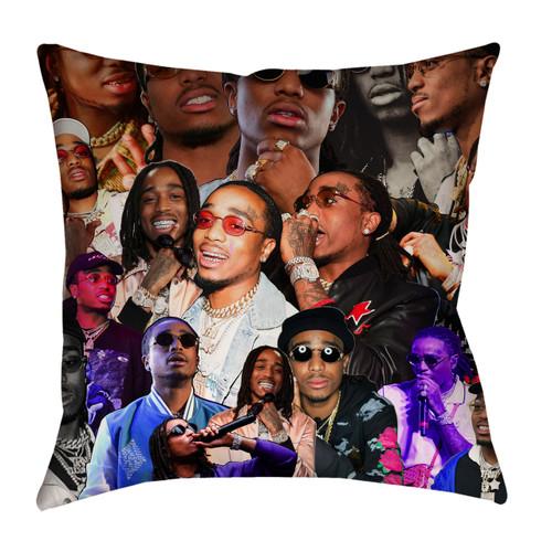 Quavo Photo Collage Pillowcase