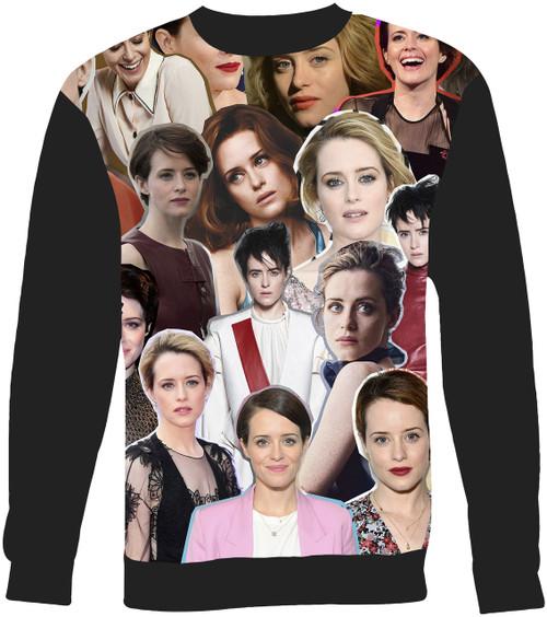 Claire Foy sweatshirt