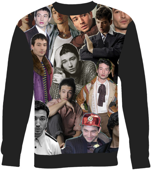 Ezra Miller sweatshirt