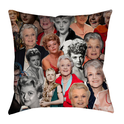 Angela Lansbury pillow case