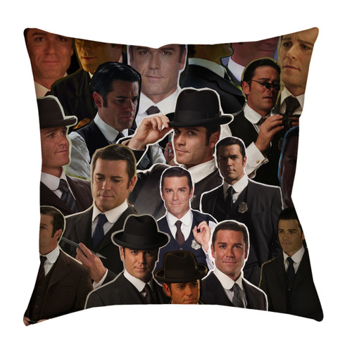 Detective William Murdoch pillow case