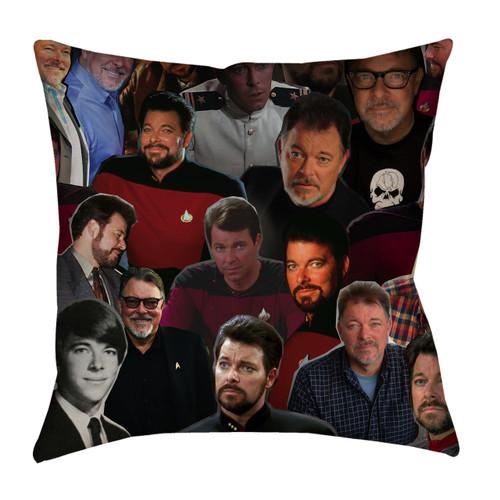 Jonathan Frakes pillowcase