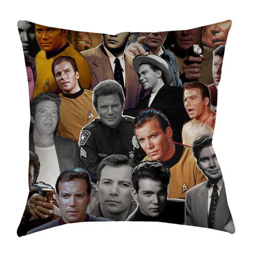 William Shatner pillow case
