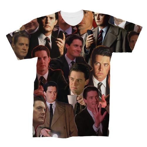 Dale Cooper Twin Peaks tshirt
