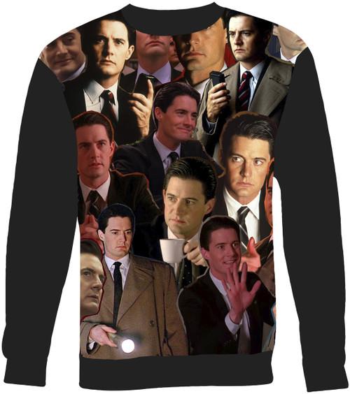 Dale Cooper Twin Peaks sweatshirt