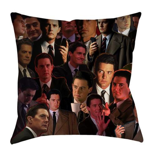 Dale Cooper Twin Peaks pillowcase
