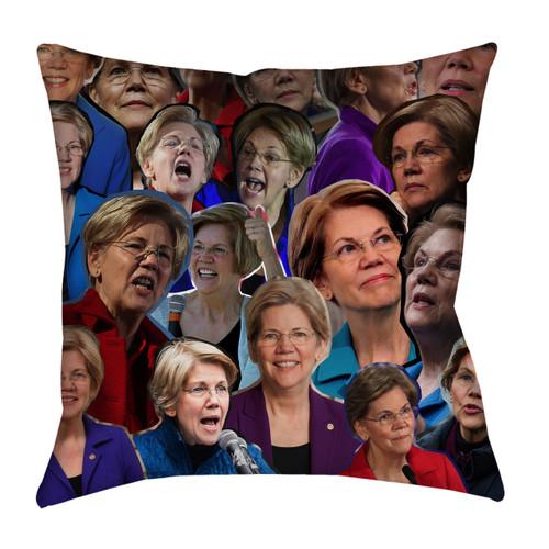 Elizabeth Warren pillowcase