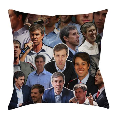 Beto O'Rourke pillowcase