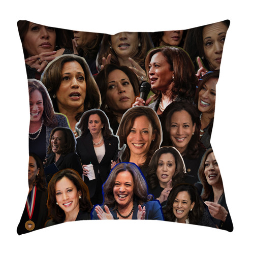 Kamala Harris pillowcase