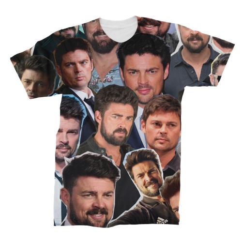 Karl Urban Photo Collage T-Shirt