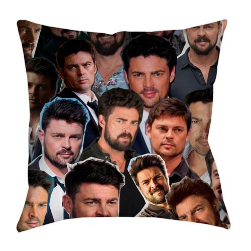 Karl Urban Photo Collage Pillowcase
