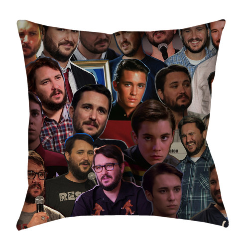 Wil Wheaton pillowcase