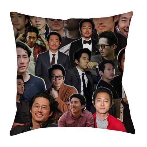 Steven Yeun pillowcase