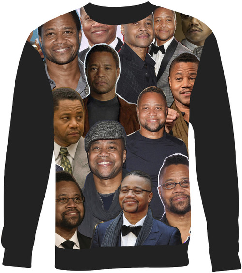 Cuba Gooding Jr. sweatshirt
