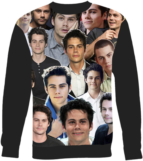 Dylan O'Brien Collage Sweater Sweatshirt