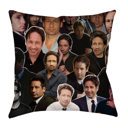 David Duchovny pillowcase
