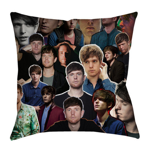 James Blake pillowcase