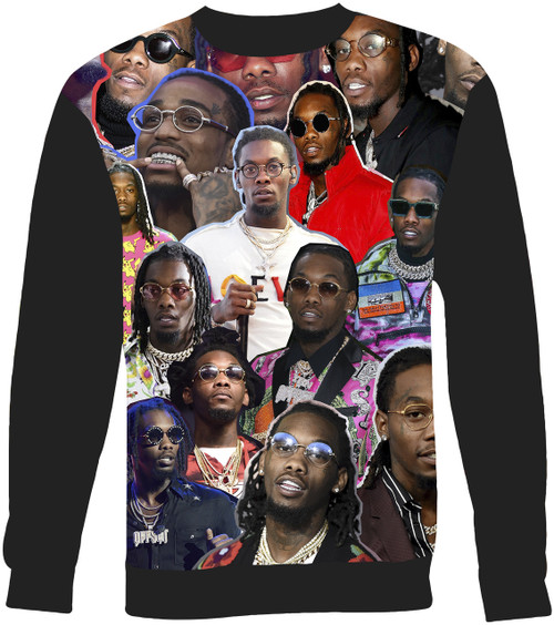 Offset sweatshirt
