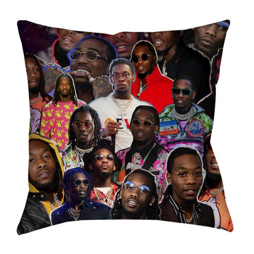Offset pillowcase