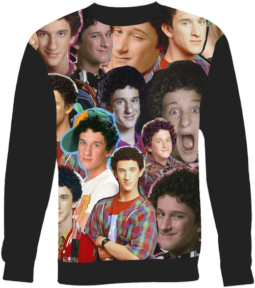Screech Saved By The Bell Collage Sweater Sweatshirt