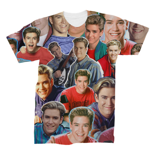 Zack Morris Saved By The Bell tshirt