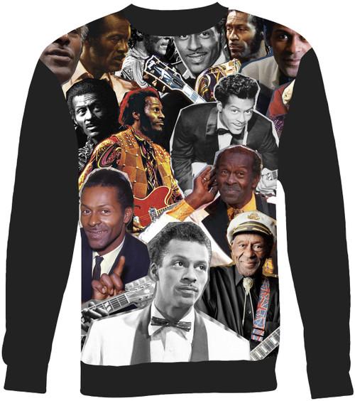 Chuck Berry Collage Sweater Sweatshirt