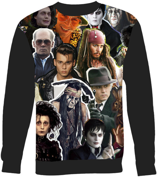 Johnny Depp sweatshirt