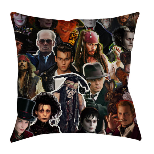 Johnny Depp pillowcase