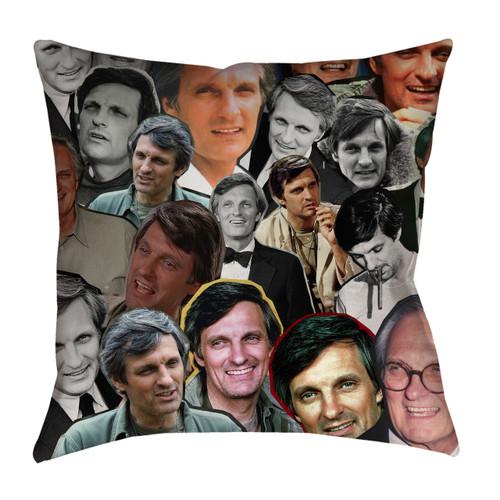 Alan Alda pillowcase