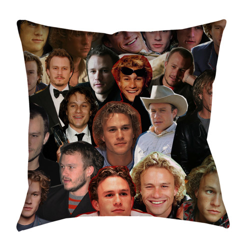 Heath Ledger pillowcase