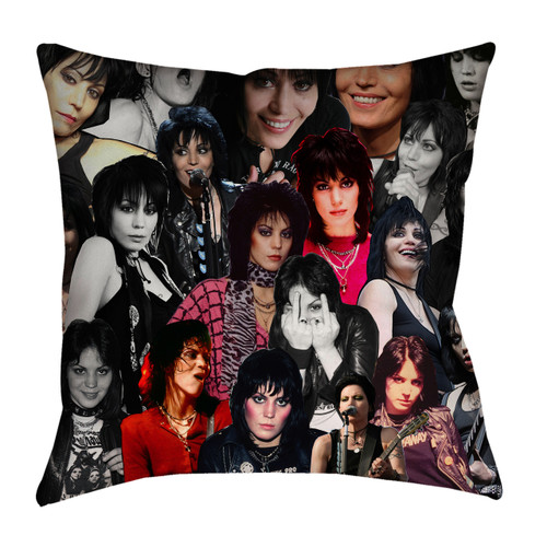 Joan Jett Photo Collage Pillowcase