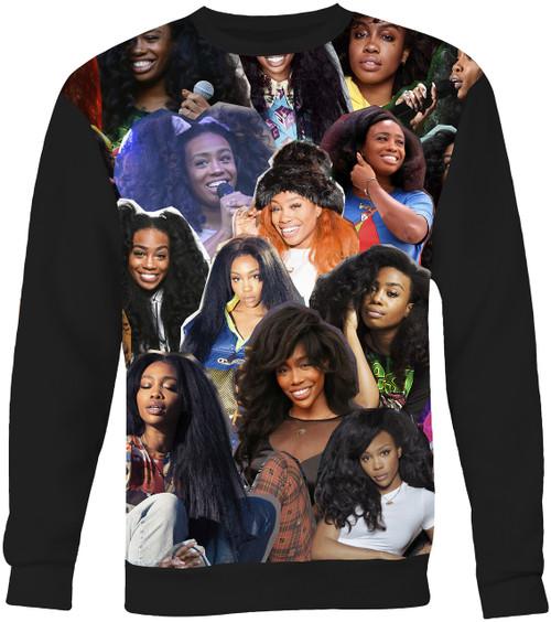 SZA Collage Sweater Sweatshirt