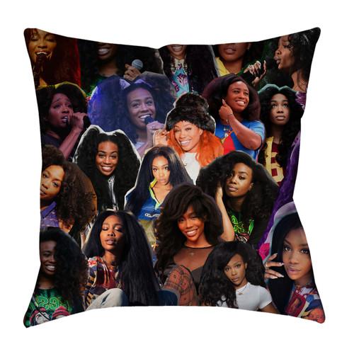 SZA Photo Collage Pillowcase