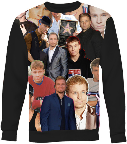 Brian Littrell Backstreet Boys Collage Sweater Sweatshirt