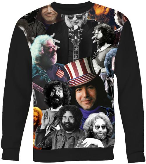 Jerry Garcia Collage Sweater Sweatshirt
