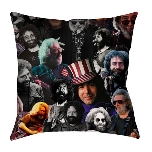 Jerry Garcia Photo Collage Pillowcase