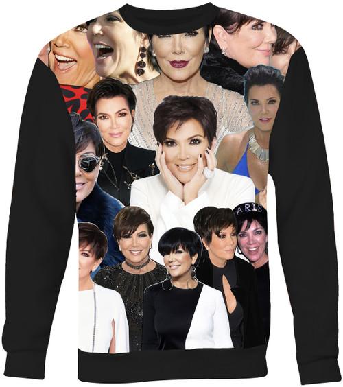 Kris Jenner Collage Sweater Sweatshirt