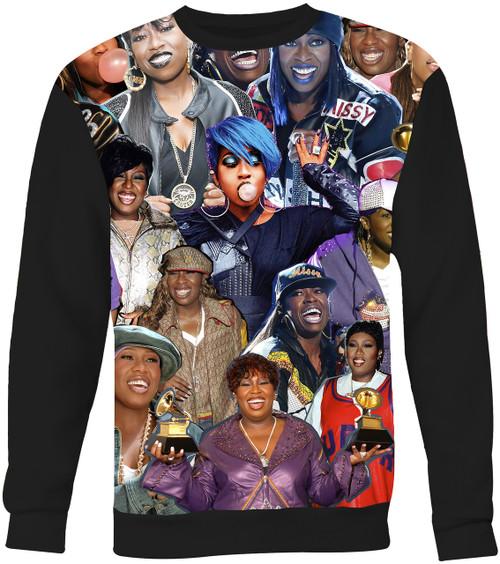 Missy Elliott Collage Sweater Sweatshirt