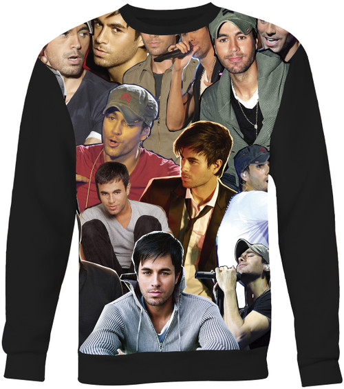 Enrique Iglesias Collage Sweater Sweatshirt