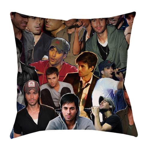 Enrique Iglesias Photo Collage Pillowcase