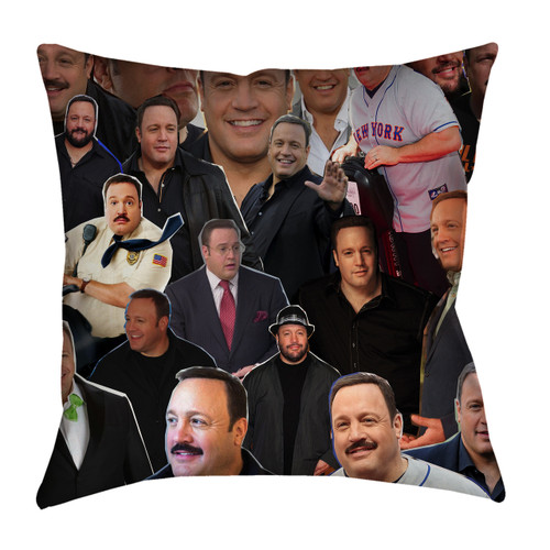 Kevin James Photo Collage Pillowcase